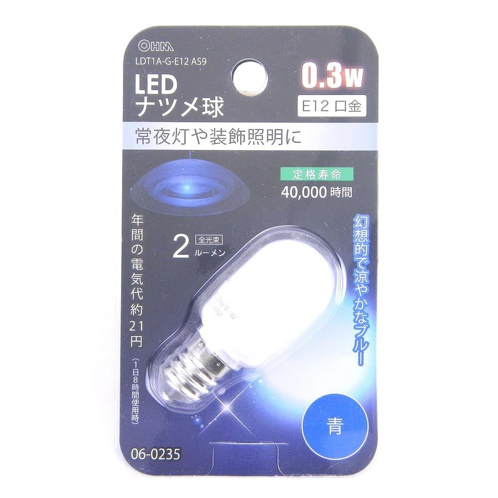 E12 0.3W 青色 LDT1A-G-E12 AS9 06-0235