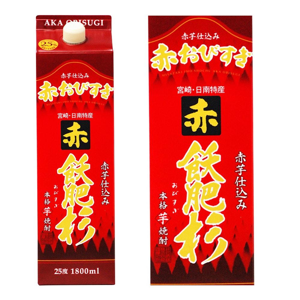 赤飫肥杉 芋 パック 25度 1800ml