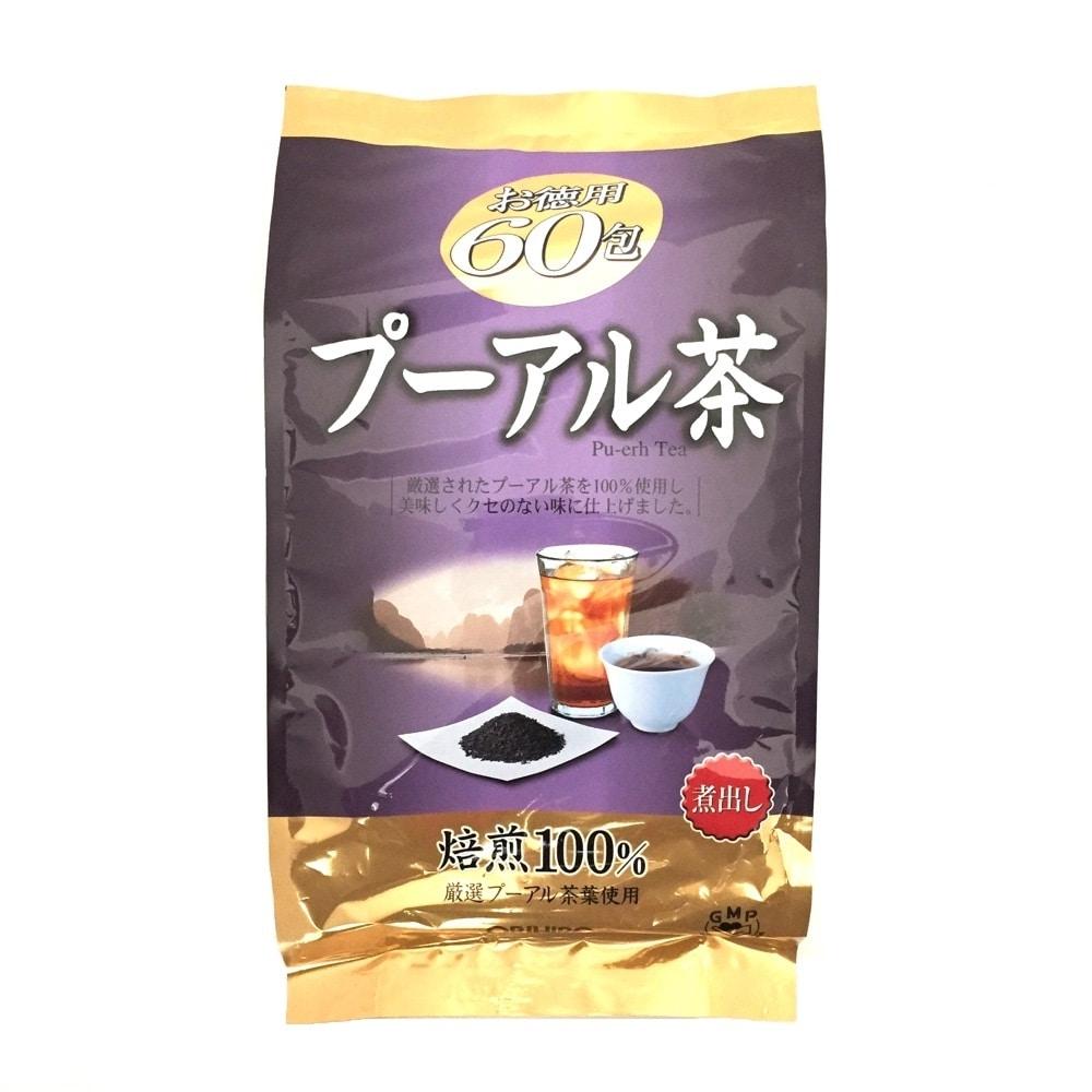 お徳用プーアル茶(3g*60包入)
