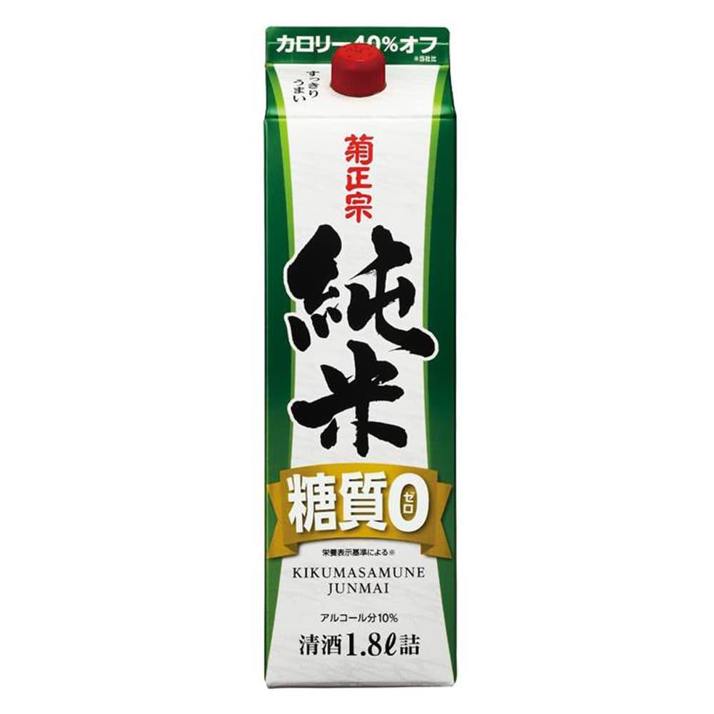 菊正宗 糖質ゼロ純米パック 1800ml
