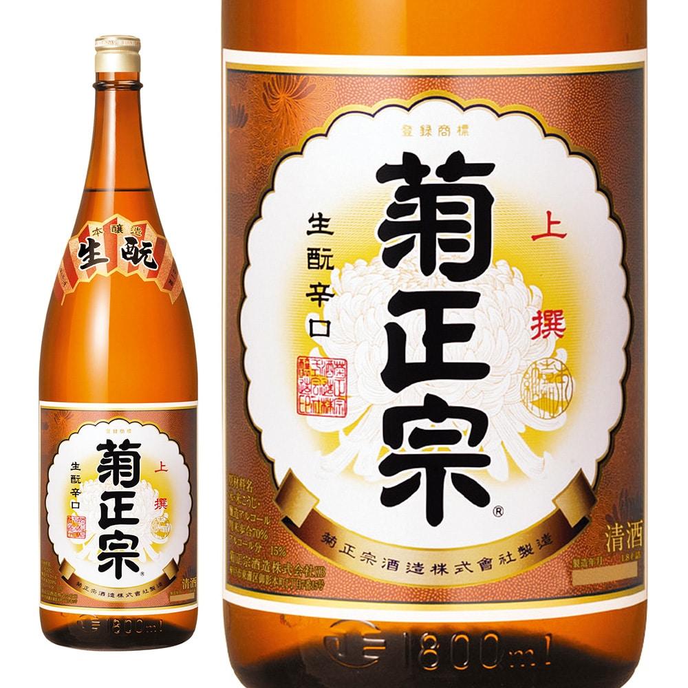 菊正宗 上撰 本醸造 P箱 1.8L