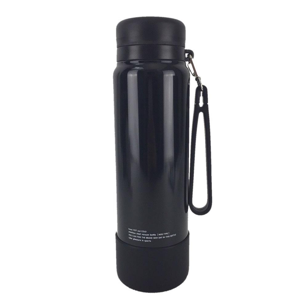 ステンレスボトルスポーツマグ 1.0L オールブラック AKD-RS100