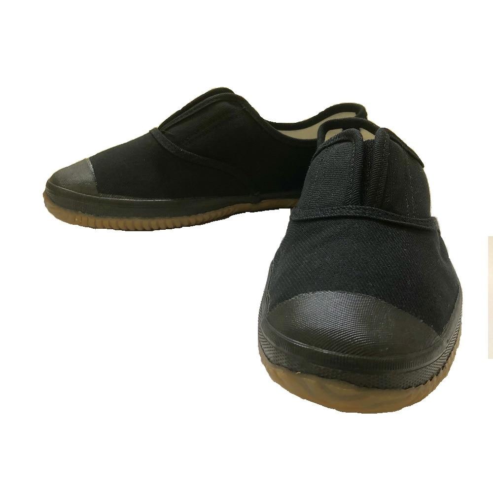 つま先ガード付軽作業靴 黒 27.0