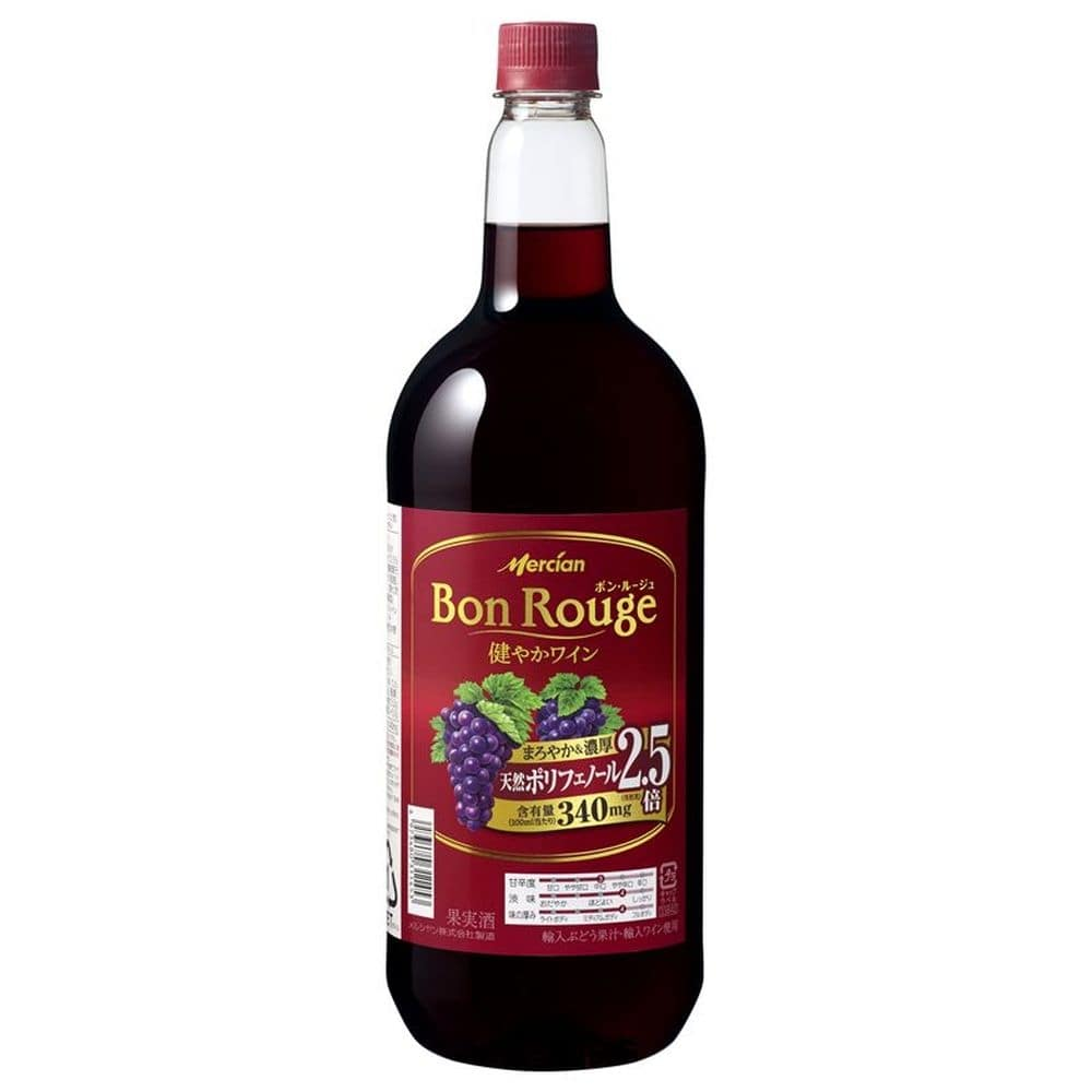 ボン・ルージュ 赤 ペットボトル1.5l