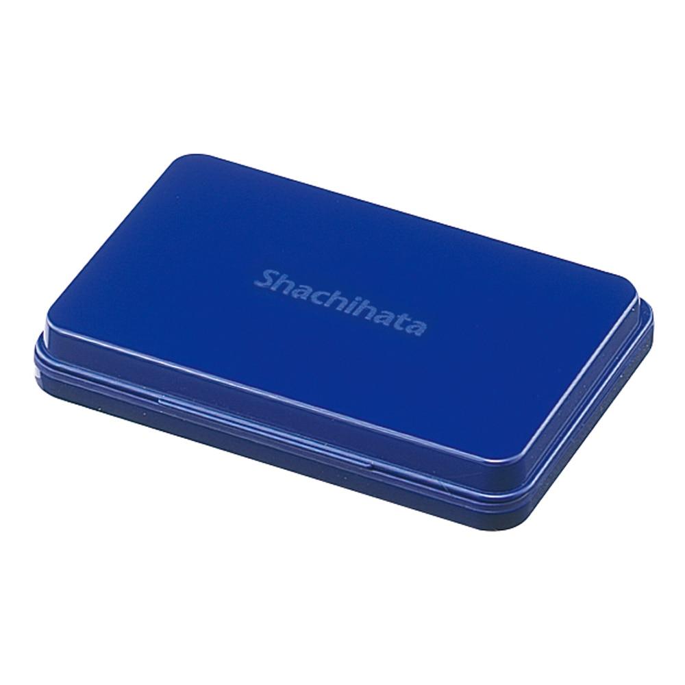 シヤチハタ スタンプ台 中型 藍
