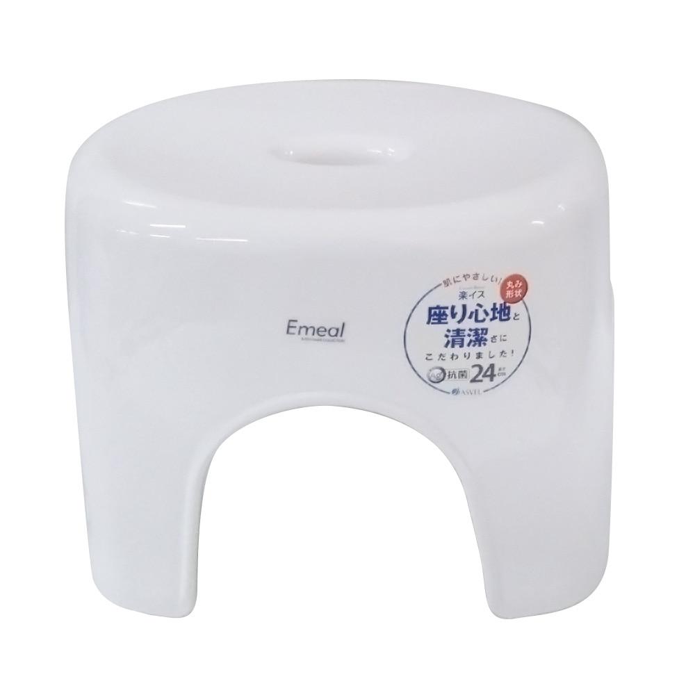 アスベル エミール 風呂いす24 ホワイト(1コ入)