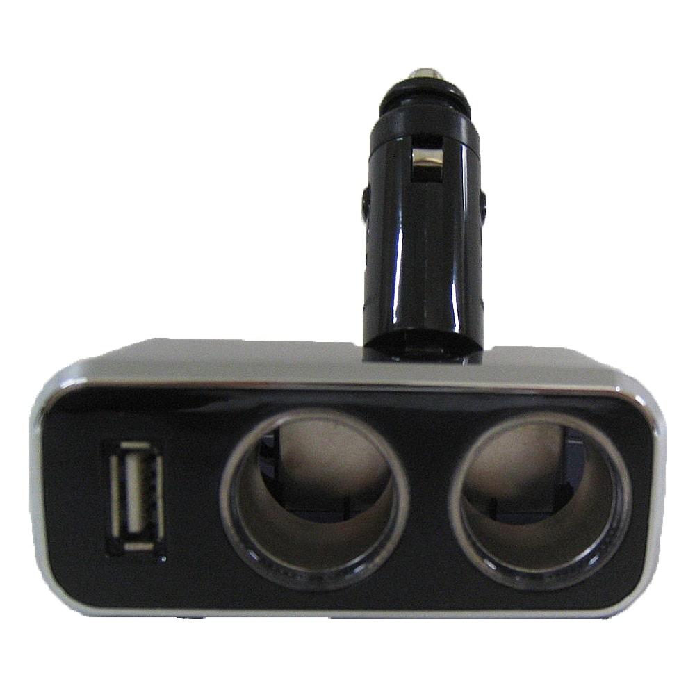 ナポレックス  Fizz-966 イルミソケットD2 USB 1.2A