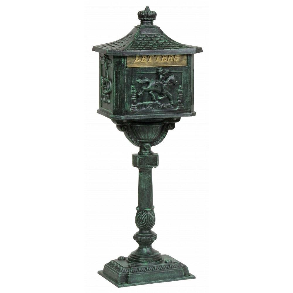 タカショー 青銅色ビクトリアメイルボックス SUZ-M1000G
