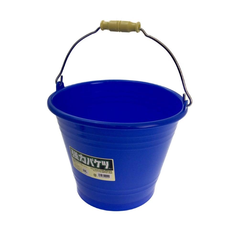 強力バケツ 10L ブルー