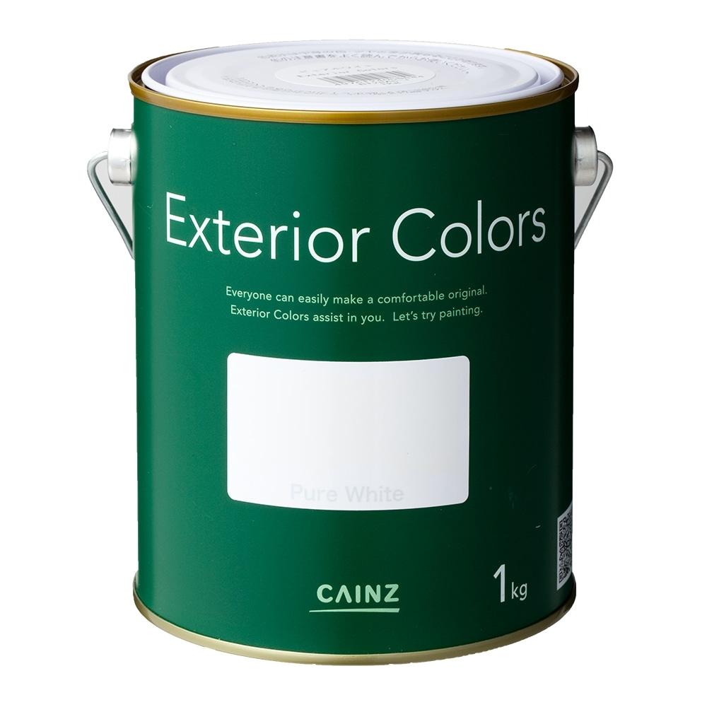 エクステリアカラーズ ピュアホワイト 1kg