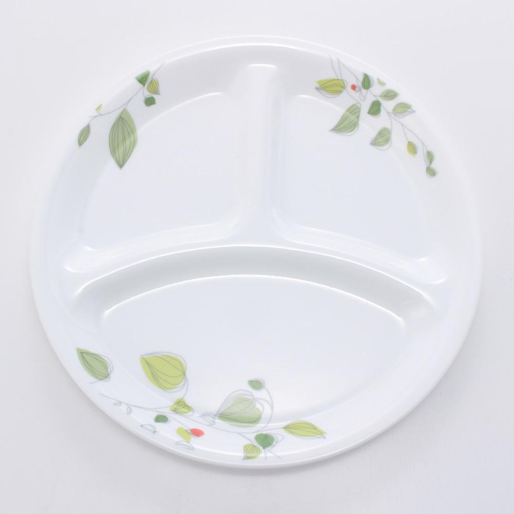 コレール ランチ皿(小) グリーンブリーズ