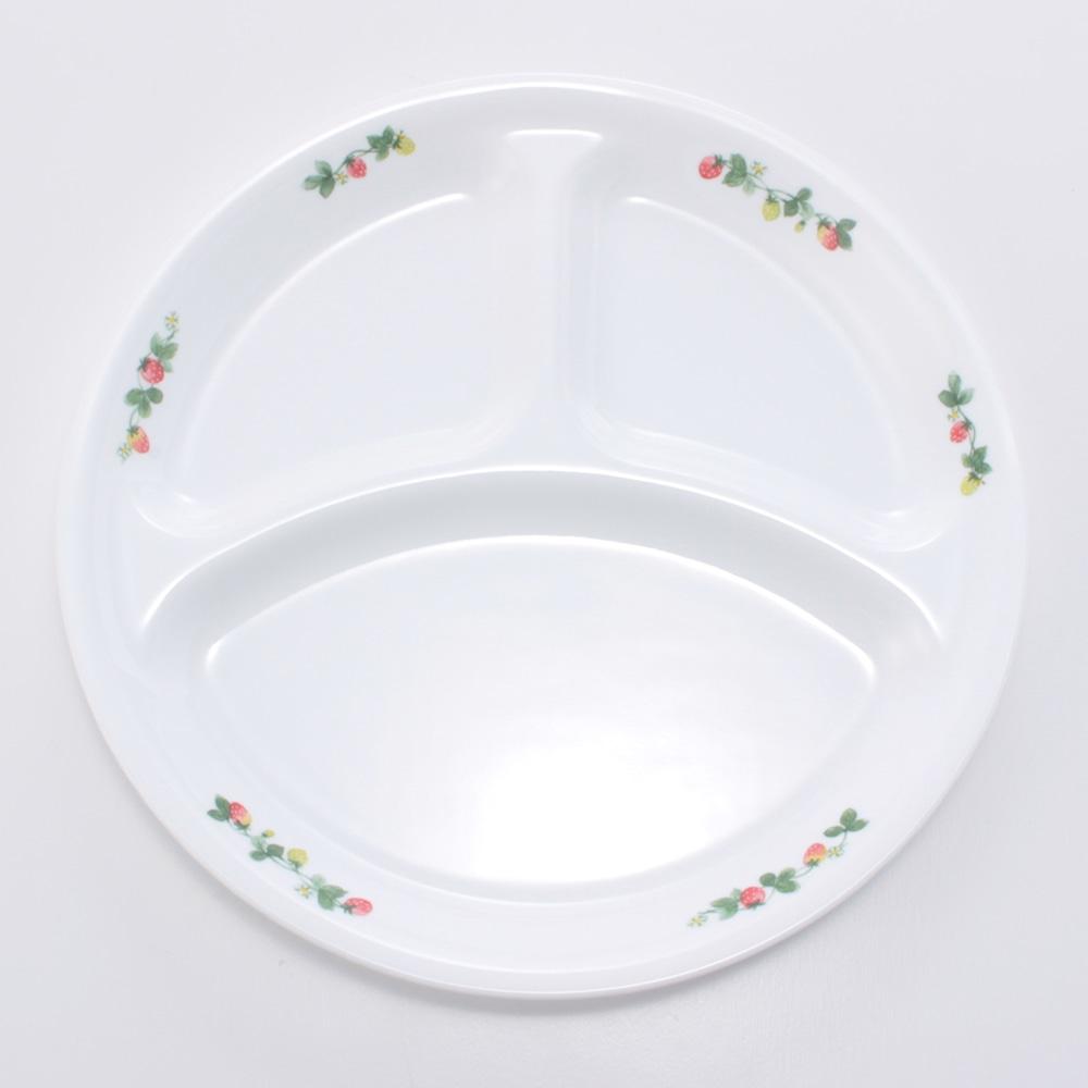 コレール ランチ皿(大) スウィートストロベリー