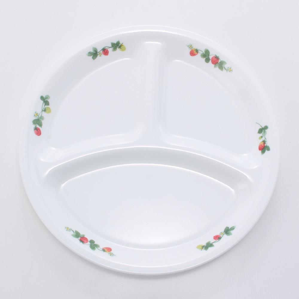 プレート 皿 外径9.5×高さ4.5cm 割れにくい 軽量 スウィートストロベリー ランチ皿(小) J385-SWT CP-9306