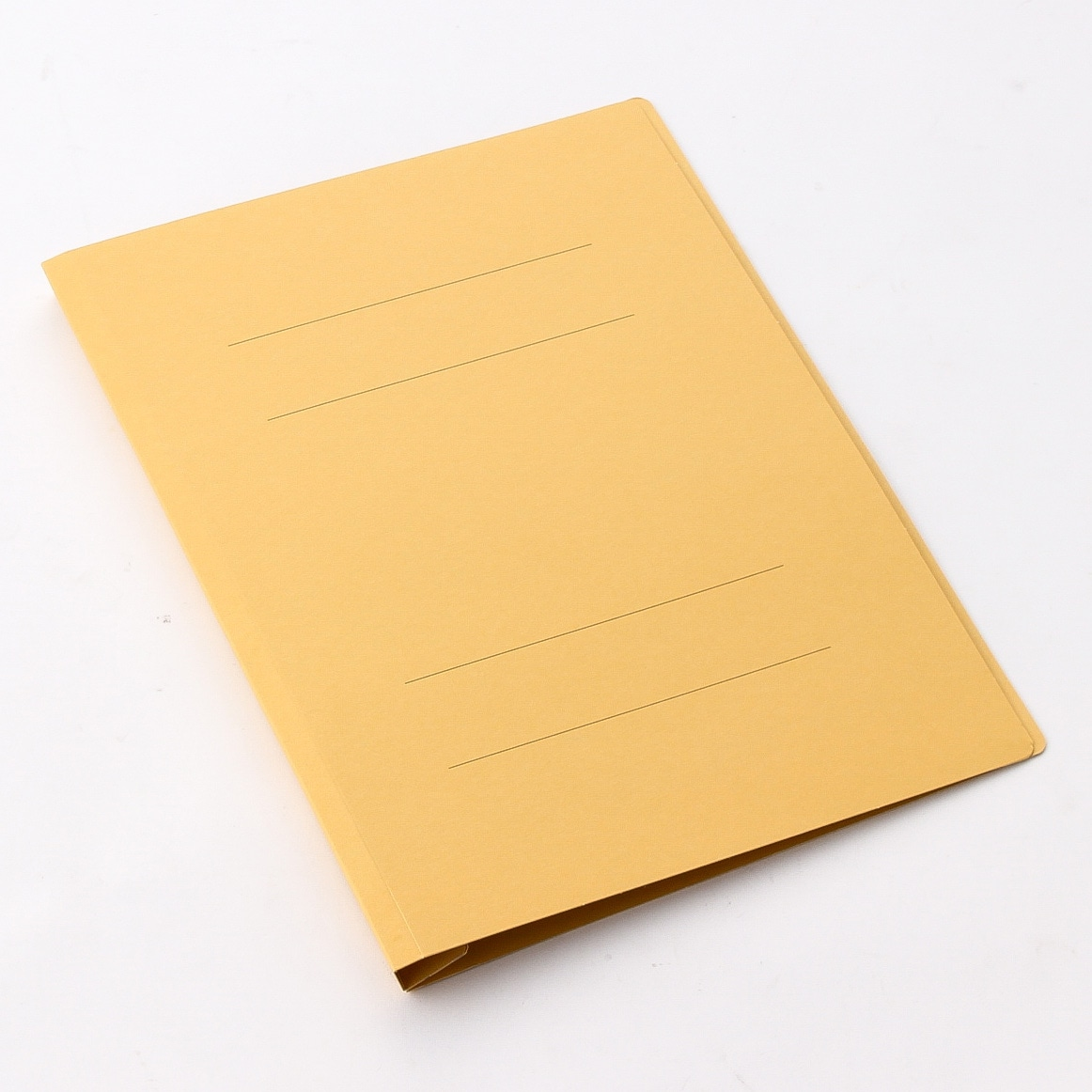 プラス フラットファイル 樹脂 A4 縦 イエロー (NO.021N) 10冊
