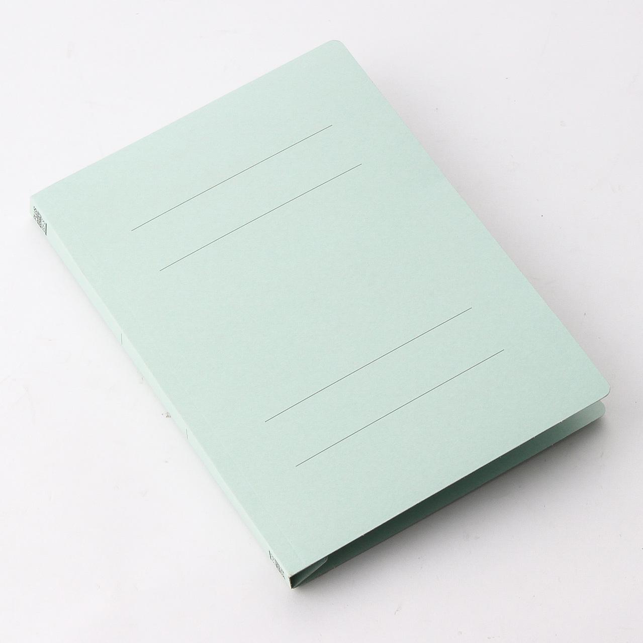 プラス フラットファイル 樹脂製とじ具 B5 縦 ライトブルー (No.031N) 10冊