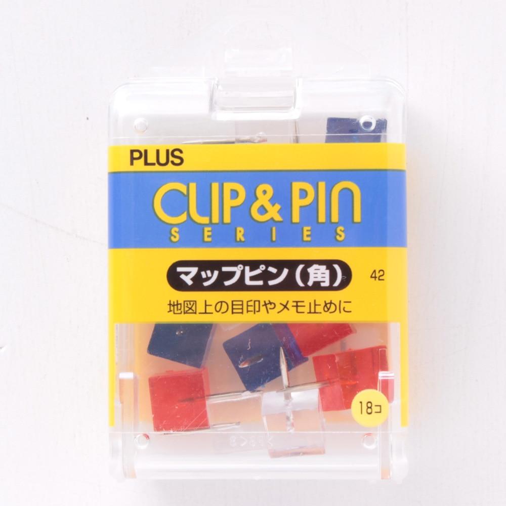 プラス マップピン 角 MIX CP-109R