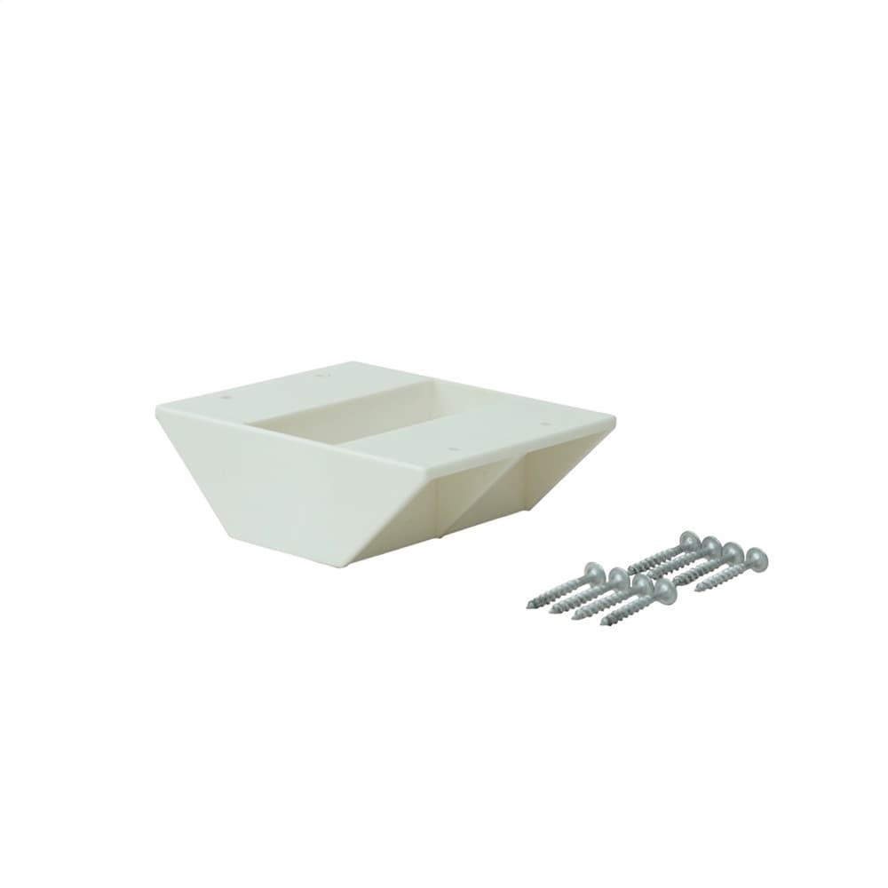 ラブリコ 2×4材用 棚受ダブル オフホワイト
