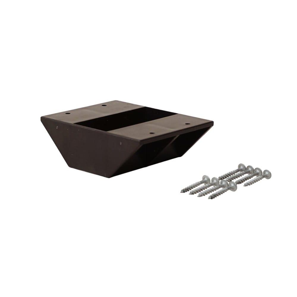 ラブリコ 2×4材用 棚受ダブル ブラウン