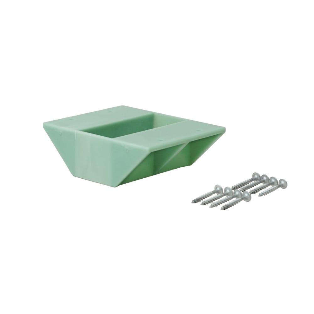 ラブリコ 2×4材用 棚受ダブル ヴィンテージグリーン