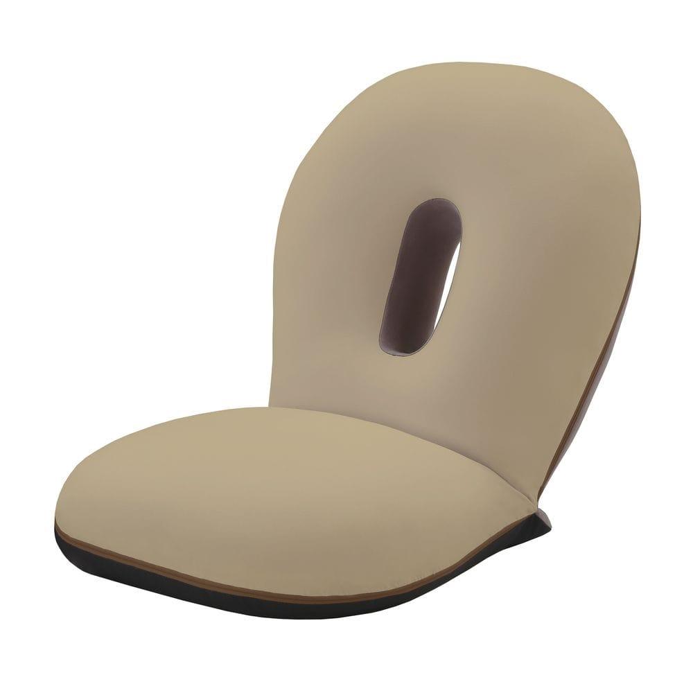 座ると眠るがシームレスにつながる座椅子 CLOUD SLP-スリーフ ブラウン