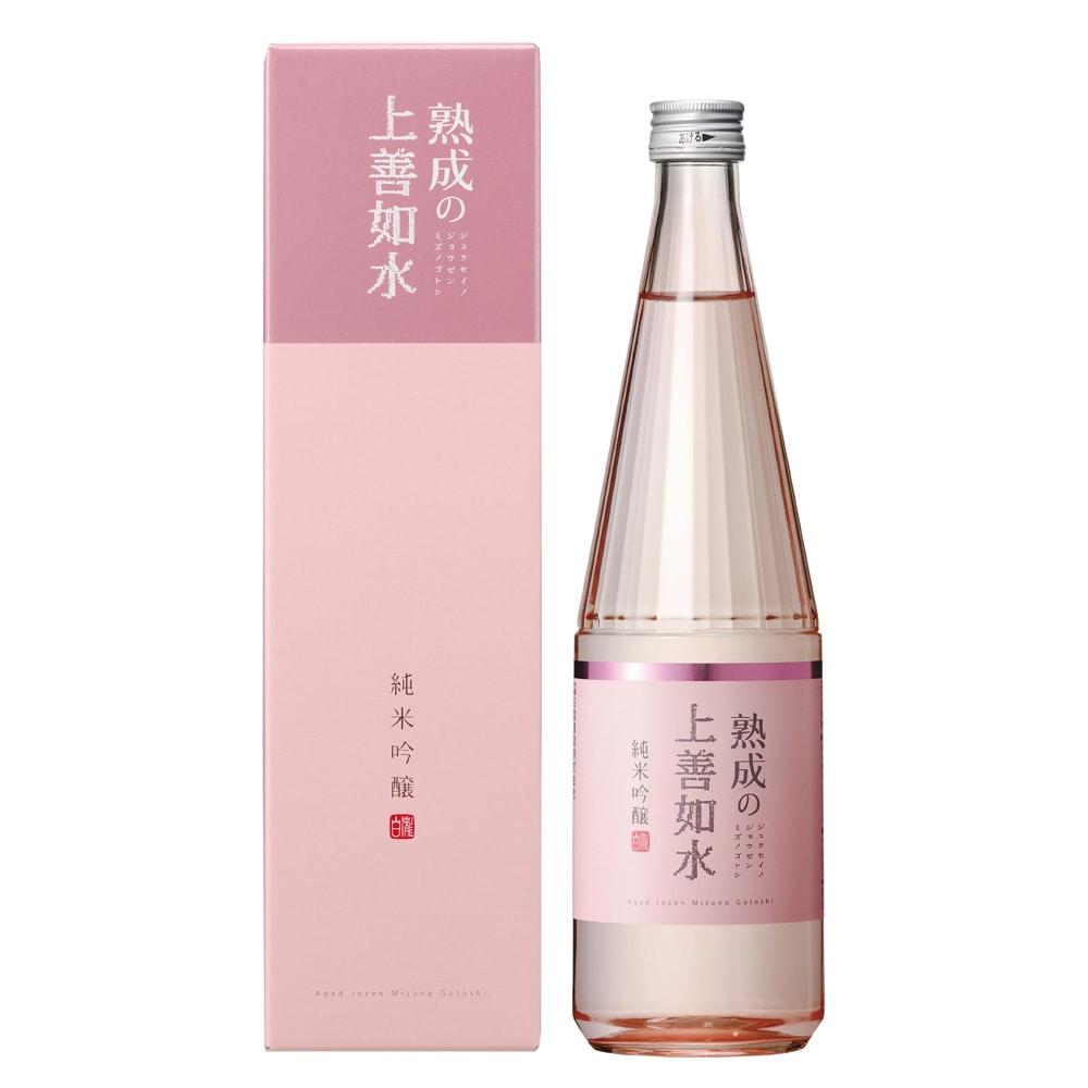 熟成の上善如水 純米吟醸 720ml【別送品】