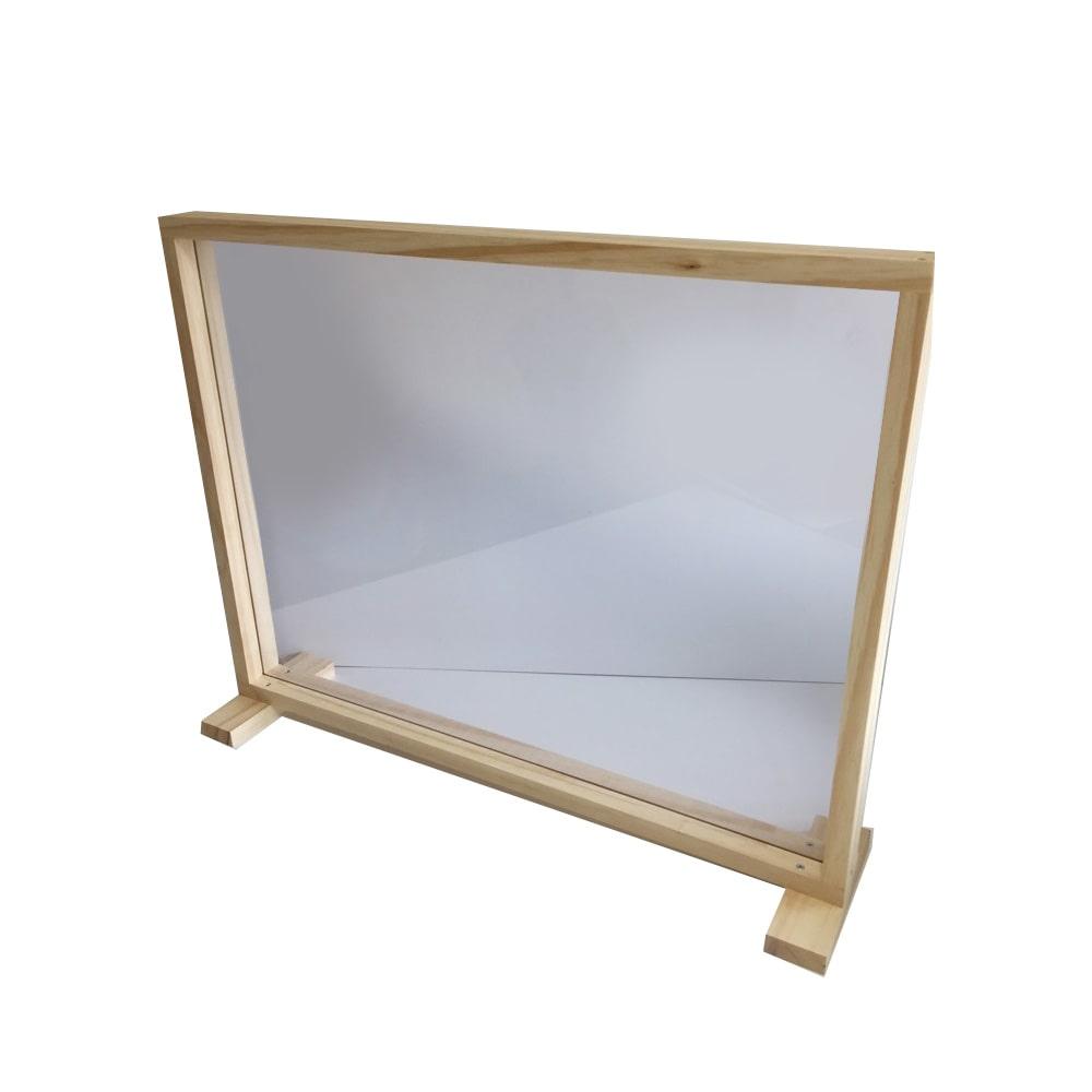 木製枠付きパーテーション 600×450エンビ板