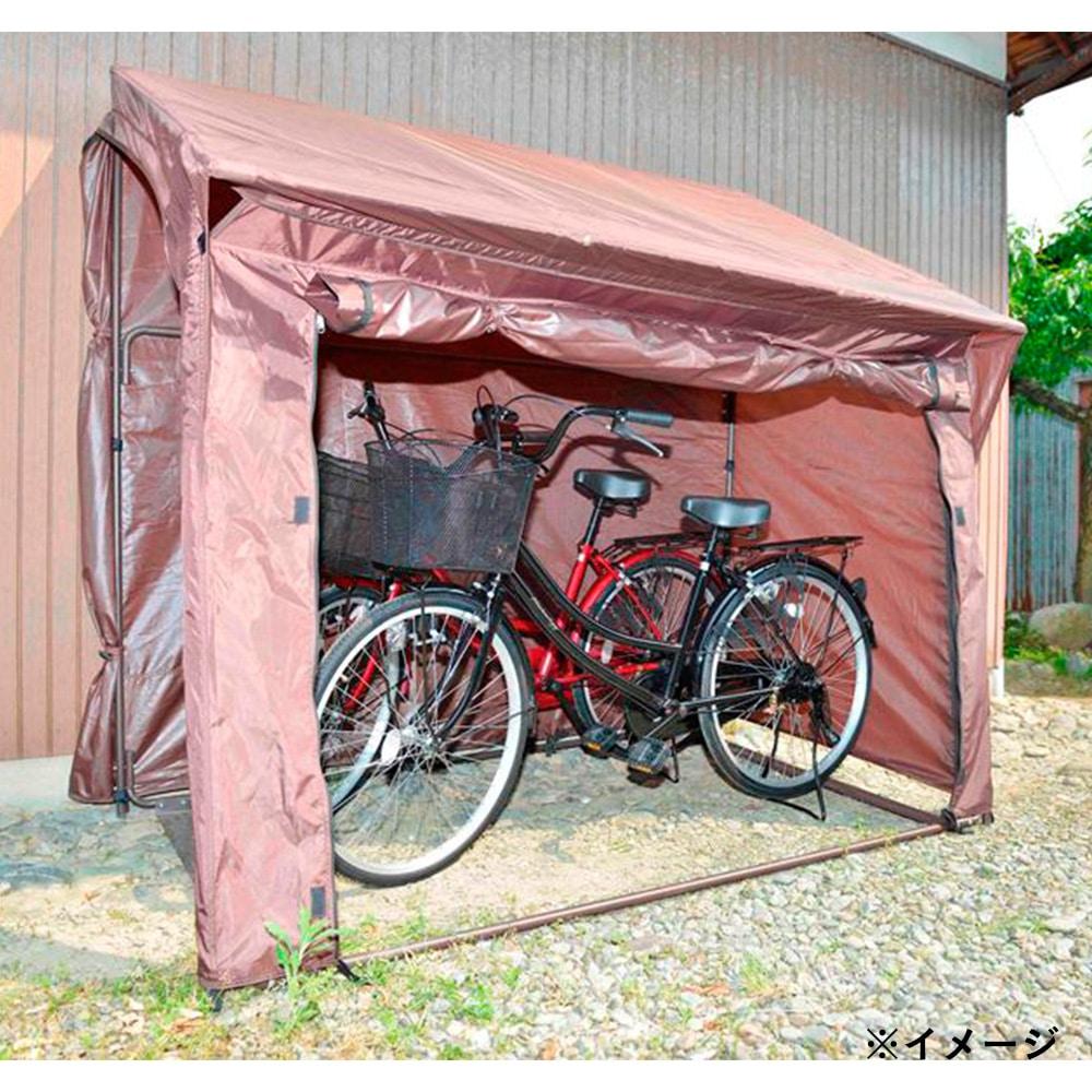 自転車置き場 片屋根式 サイクルガレージ K型