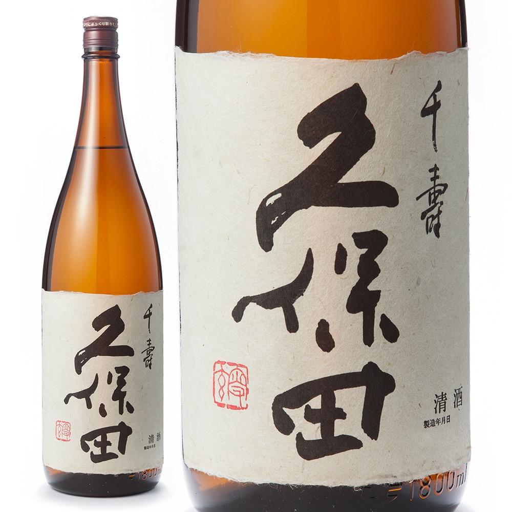 朝日酒造 久保田 千寿 吟醸 瓶 1.8L [0016]