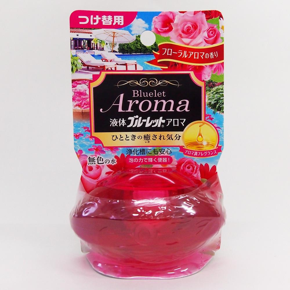 小林製薬 液体ブルーレットおくだけアロマ フローラルアロマの香り つけ替用 70ml