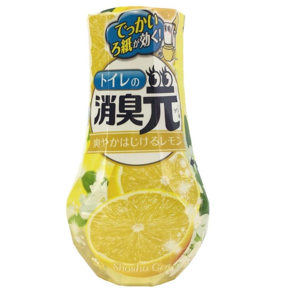 小林製薬 消臭元 トイレの消臭元 爽やかはじけるレモン 400ml