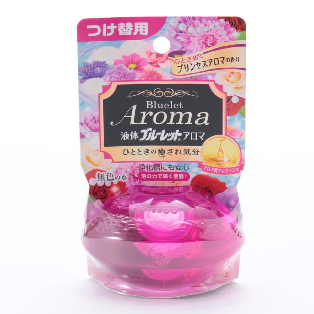 小林製薬 液体ブルーレットおくだけアロマ 心ときめくプリンセスアロマの香り つけ替用 70ml