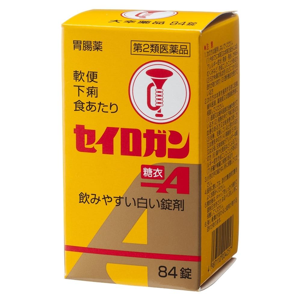 【第2類医薬品】セイロガン糖衣A 84錠 剤形【;錠剤】