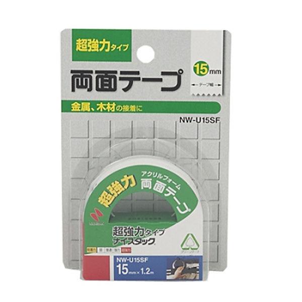 ニチバン 超強力 両面テープ 15mm×1.2m NW-U15SF
