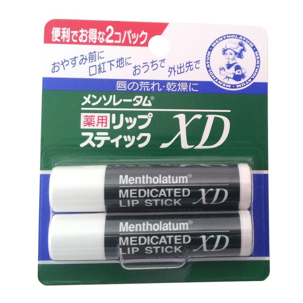 ロート製薬 メンソレータム 薬用リップスティック XD 4g×2個パック