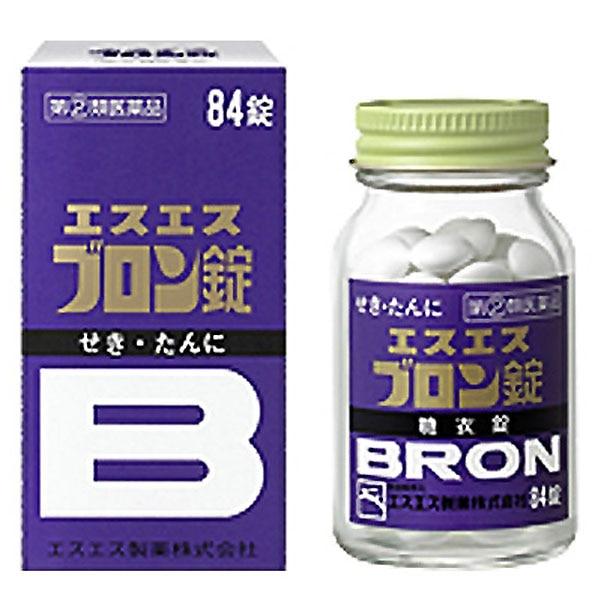 【指定第2類医薬品】エスエス製薬 エスエスブロン錠 84錠