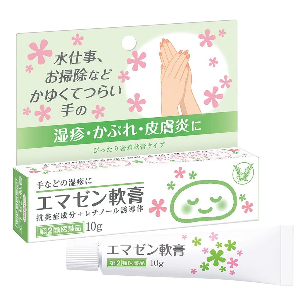 【指定第2類医薬品】大正製薬 エマゼン軟膏 10g 剤形【軟膏】