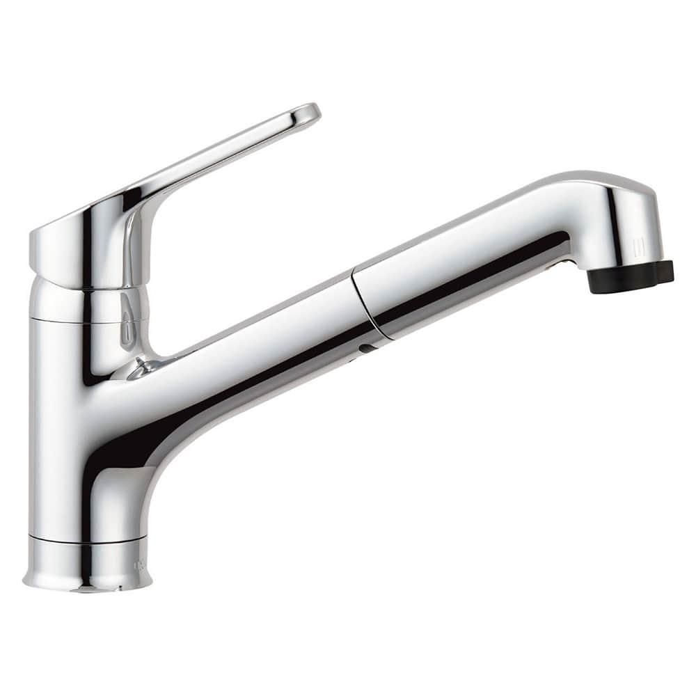 LIXIL キッチン用ハンドシャワー付シングルレバー混合水栓 寒冷地用 RSF-833YN