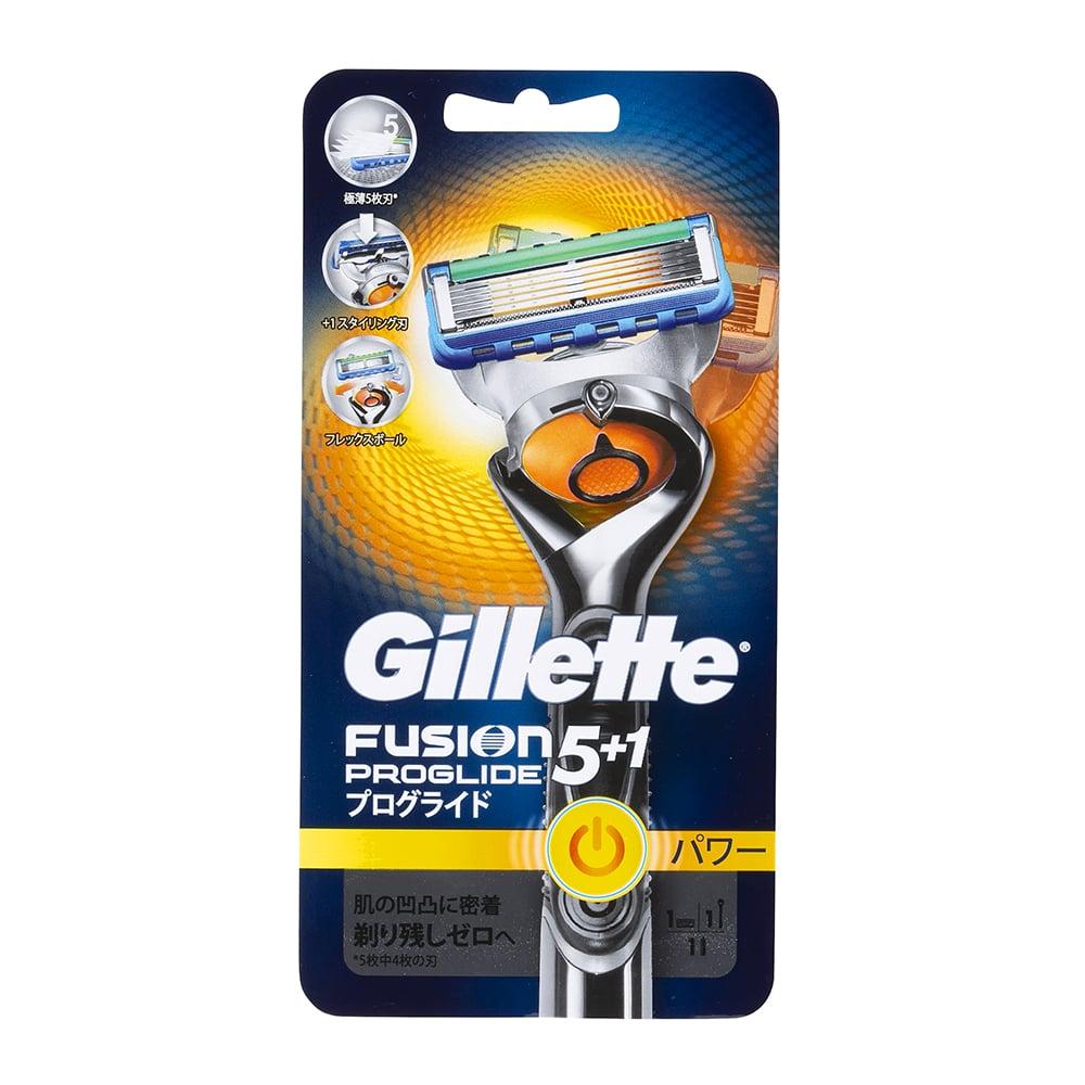 P&G ジレット プログライド フレックスボール パワー ホルダー 替刃1個付