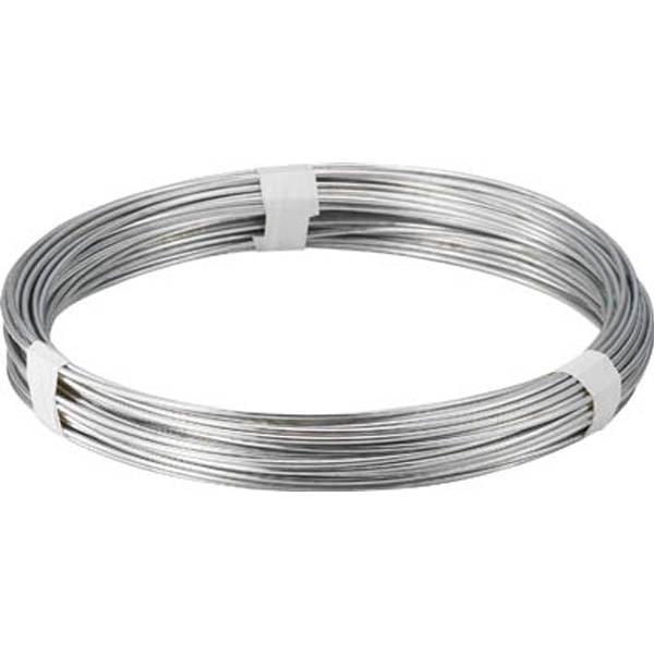 【CAINZ DASH】TRUSCO スチール針金 線径3.2mm 1kg
