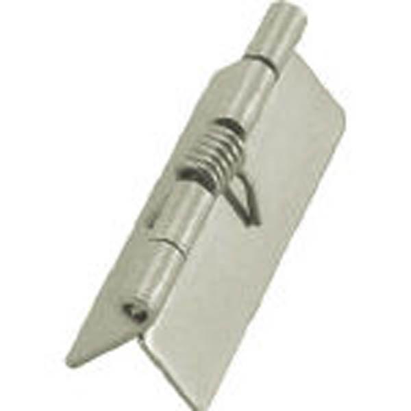 【CAINZ DASH】TRUSCO ステンレス製スプリング蝶番 全長20mm (1個=1袋)