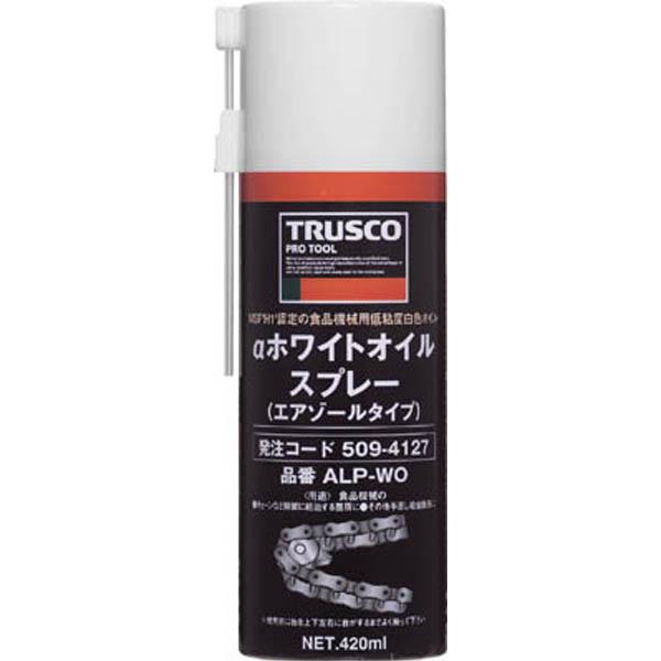 【CAINZ DASH】TRUSCO ホワイトオイルスプレー 420ml