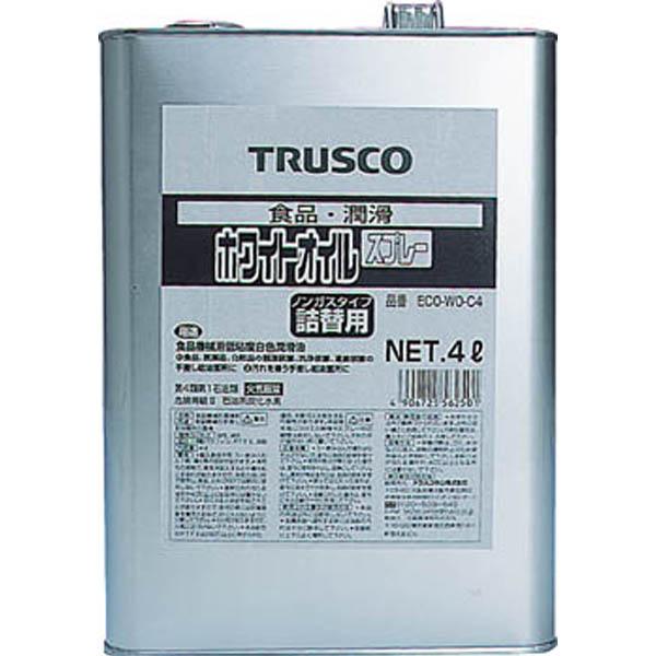 【CAINZ DASH】TRUSCO αホワイトオイル 4L