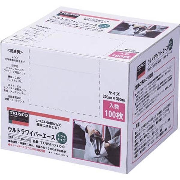【CAINZ DASH】TRUSCO ウルトラワイパーエース ドライタイプ 100枚入