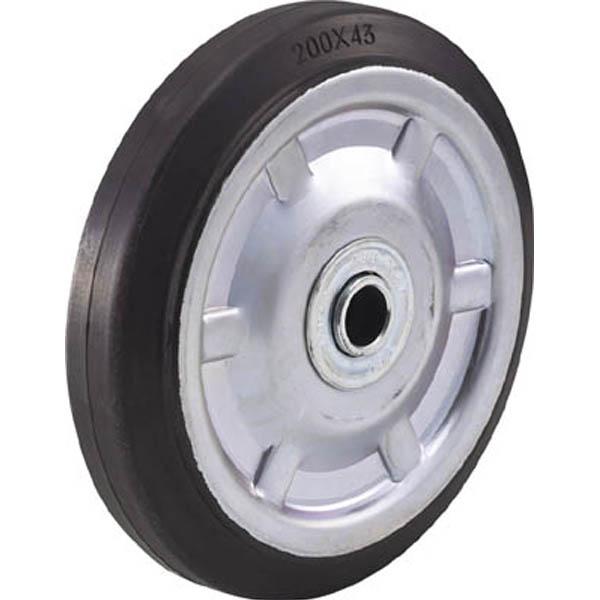 【CAINZ DASH】TRUSCO 二輪運搬車用車輪 Φ200ゴム車輪 2011/4011用