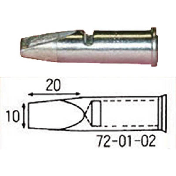 【CAINZ DASH】コテライザー こて先150・150オート用先端幅10mm