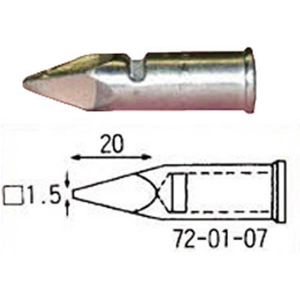 【CAINZ DASH】コテライザー こて先150・150オート用先端1.5mm四角型