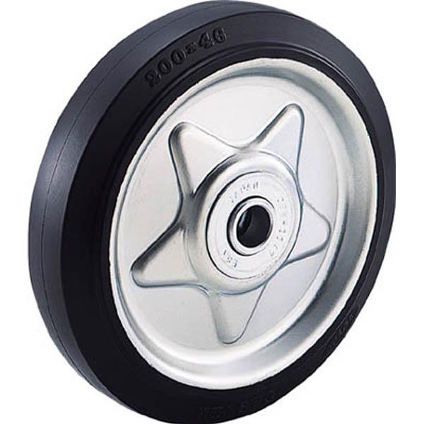 【CAINZ DASH】TRUSCO ゴム車輪 Φ200