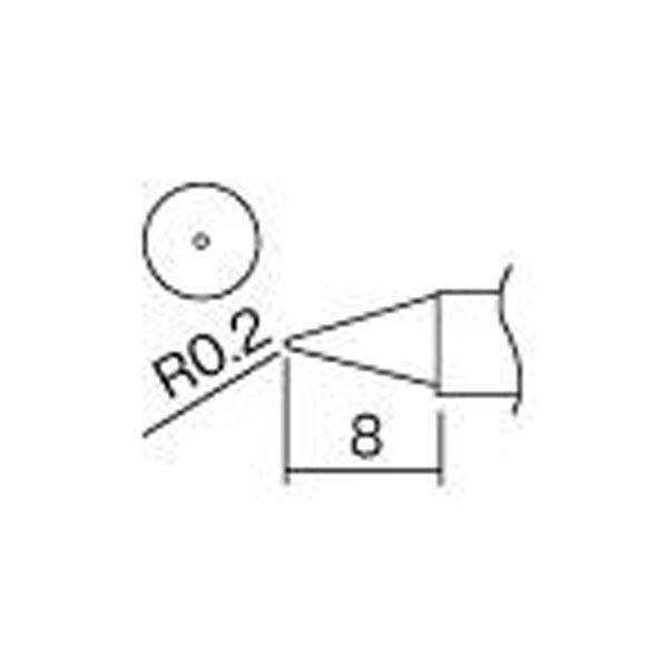 【CAINZ DASH】白光 こて先 B型(Z)