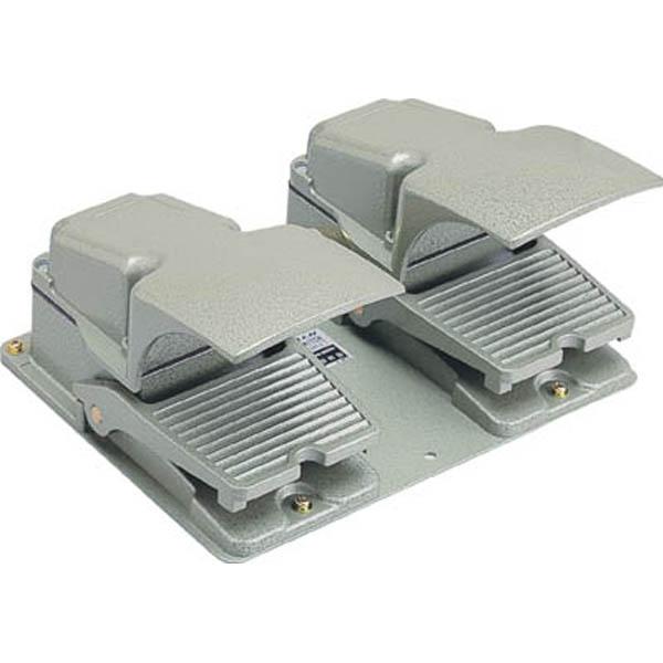 【CAINZ DASH】オジデン フットスイッチ 産業用防雨形・保護カバー付 定格6A−250VAC