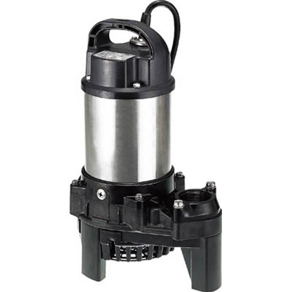 【CAINZ DASH】ツルミ 樹脂製汚水用水中ポンプ (三相200V) 60Hz